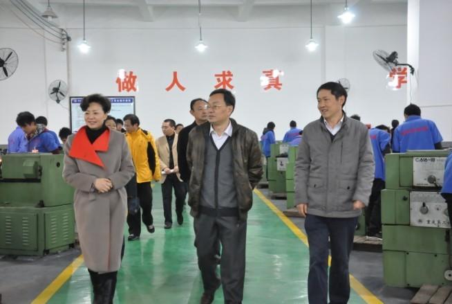 重庆市委巡视组任杰一行来我校考察图片