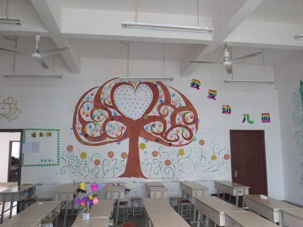 班级美化墙面设计图片